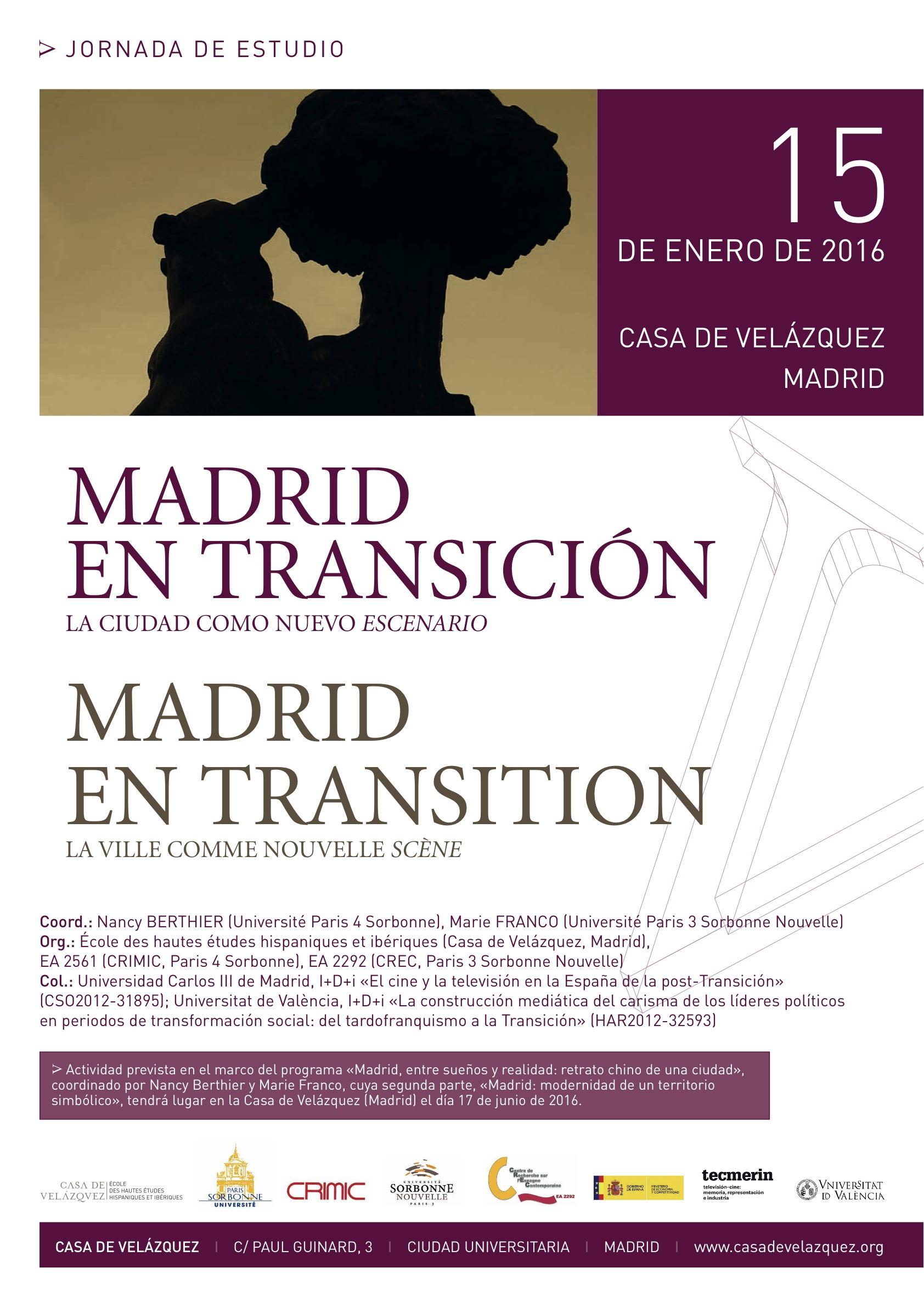 Madrid en transición : la ciudad como nuevo escenario