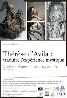 Thérèse d'Avila: Traduire l'expérience mystique