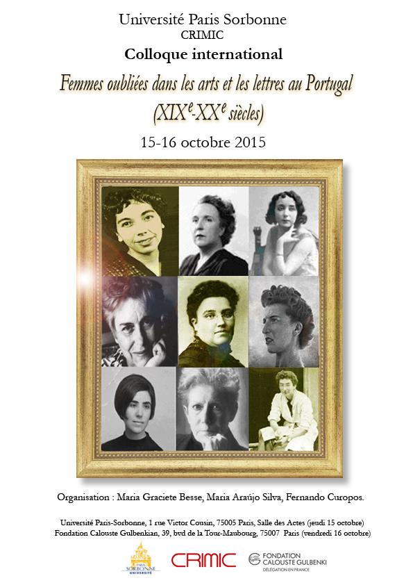 Femmes oubliées dans les arts et les lettres au Portugal (XIX-XXe s.)