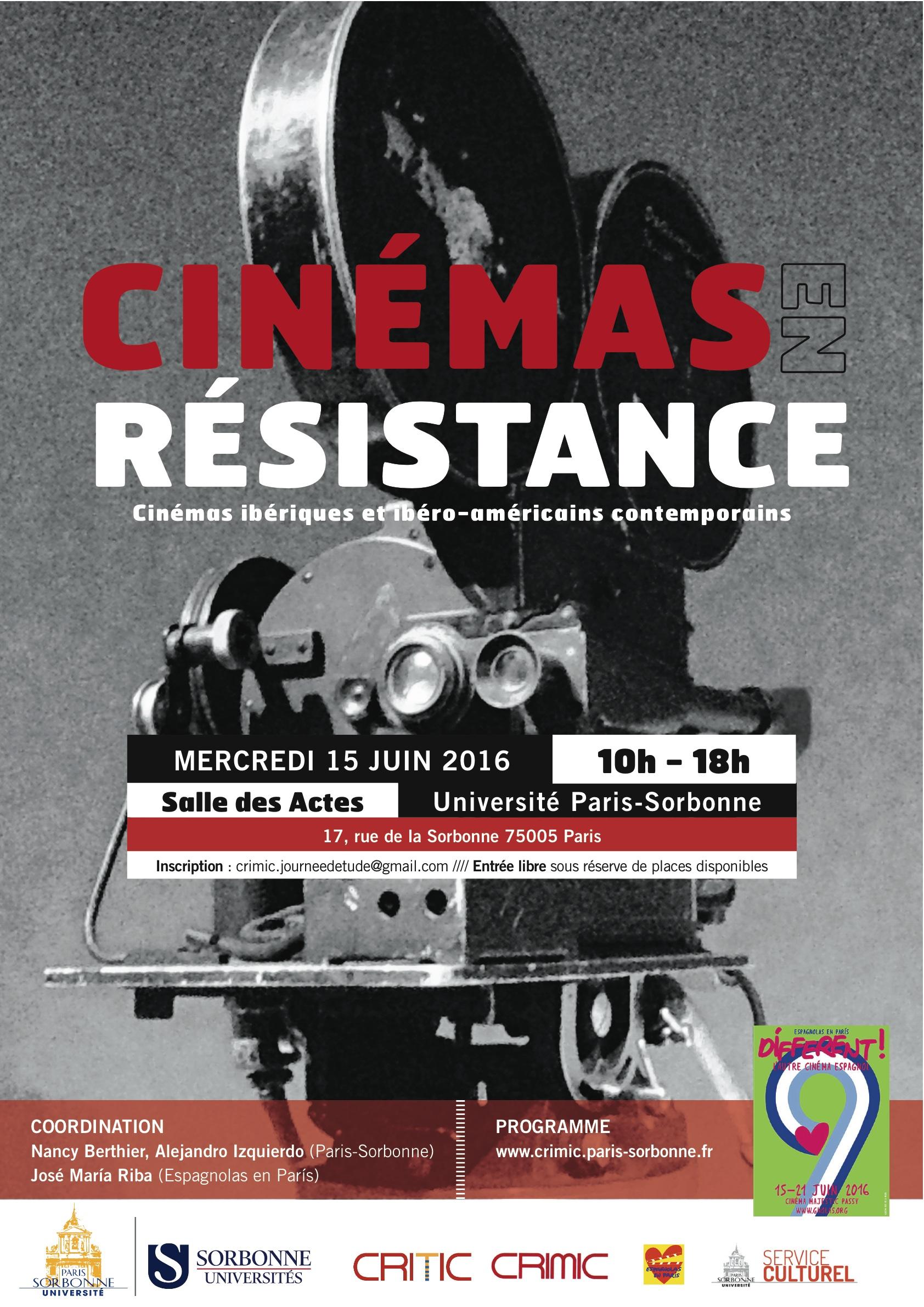 Cinémas en résistance dans les mondes ibériques et ibéro-américains contemporains