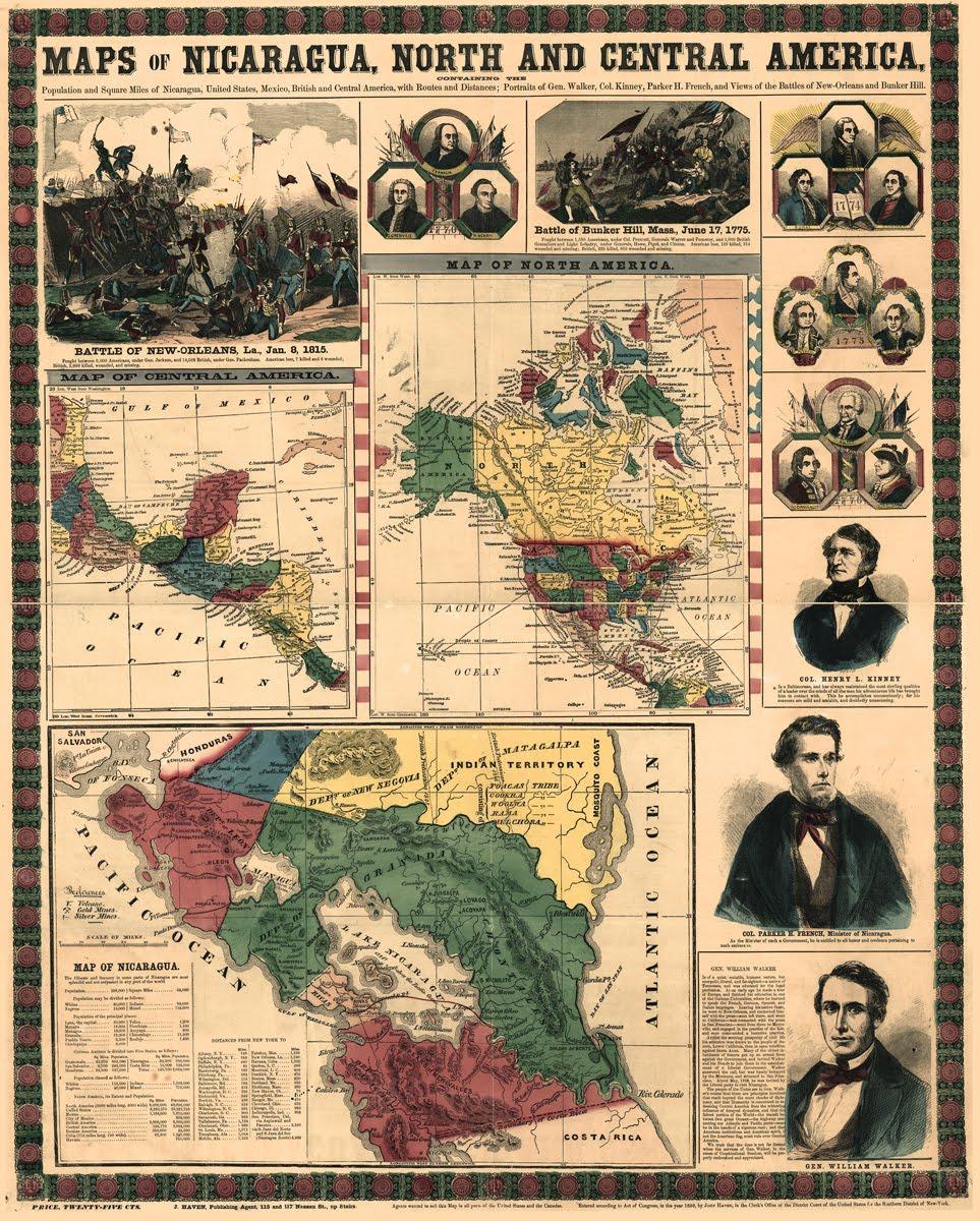 """Conférence """"Memorias de la guerra de 1855-1857 contra el filibustero William Walker en Nicaragua, Costa Rica y Estados Unidos : un intento de historia cruzada (siglos XIX-XXI)"""""""