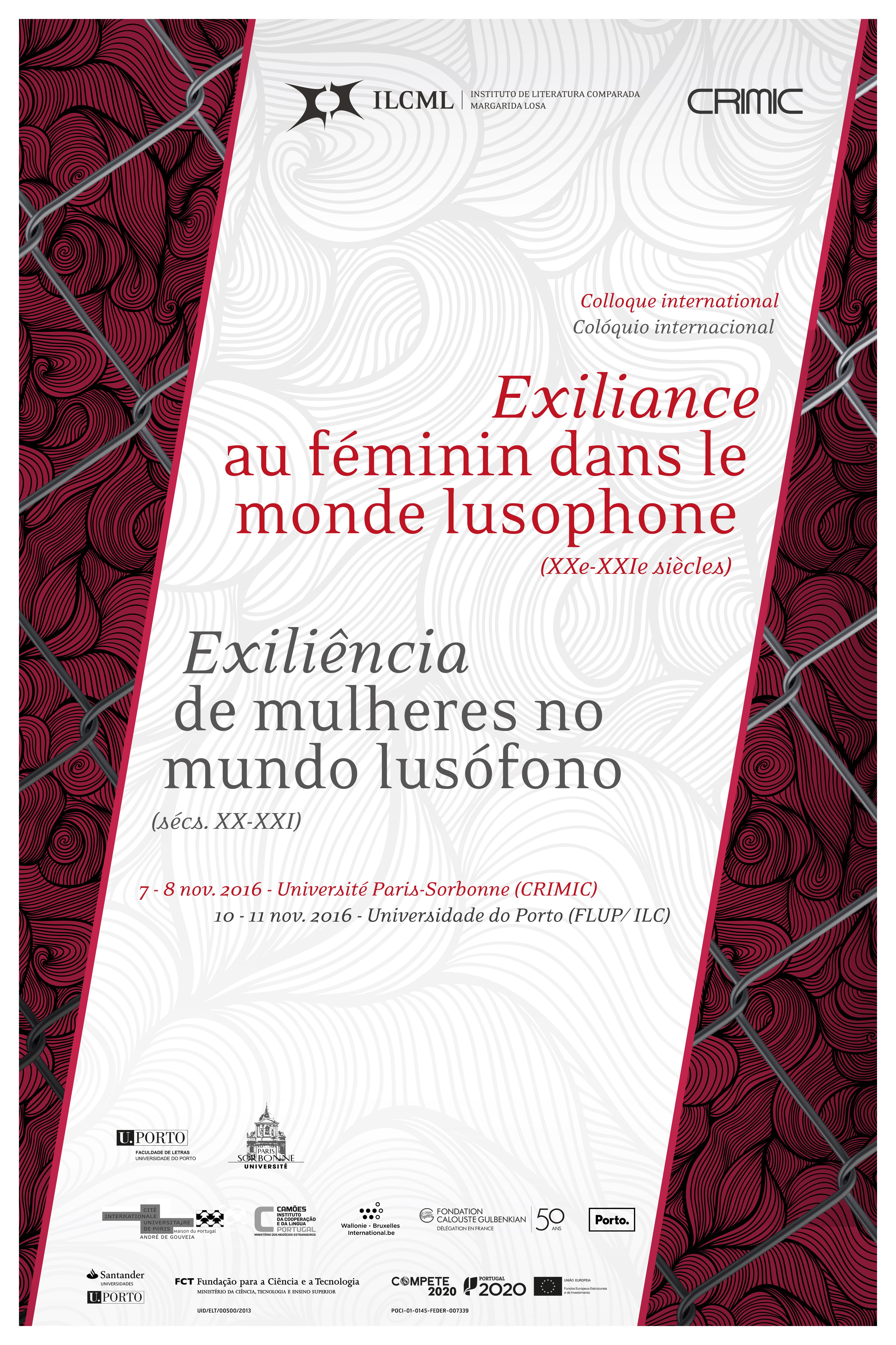 Exiliance au féminin dans le monde lusophone