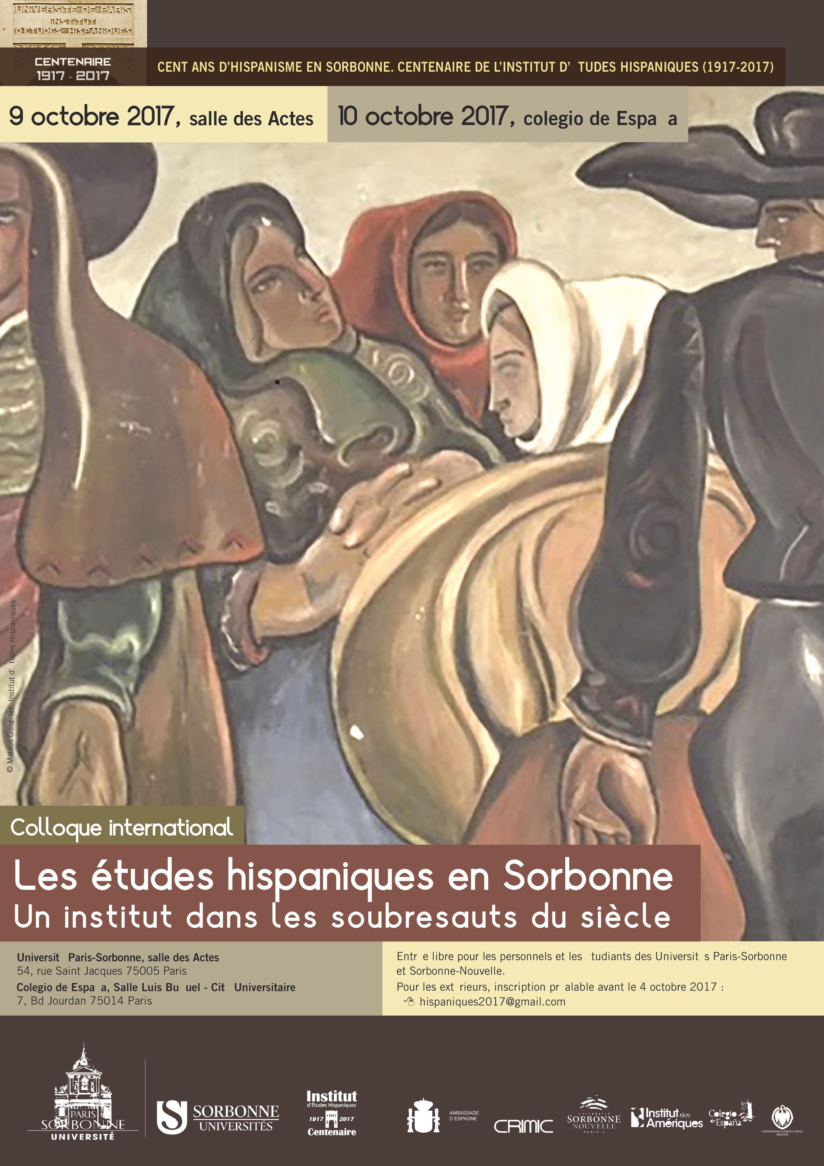 Les études hispaniques en Sorbonne : un Institut dans les soubresauts du siècle
