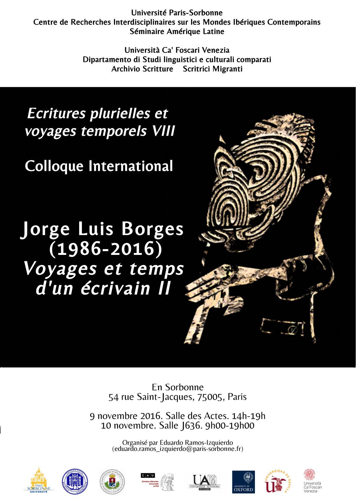 Jorge Luis Borges (1986-2016): Voyages et temps d'un écrivain II