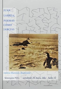 Juan Larrea, Poemas como jarcias