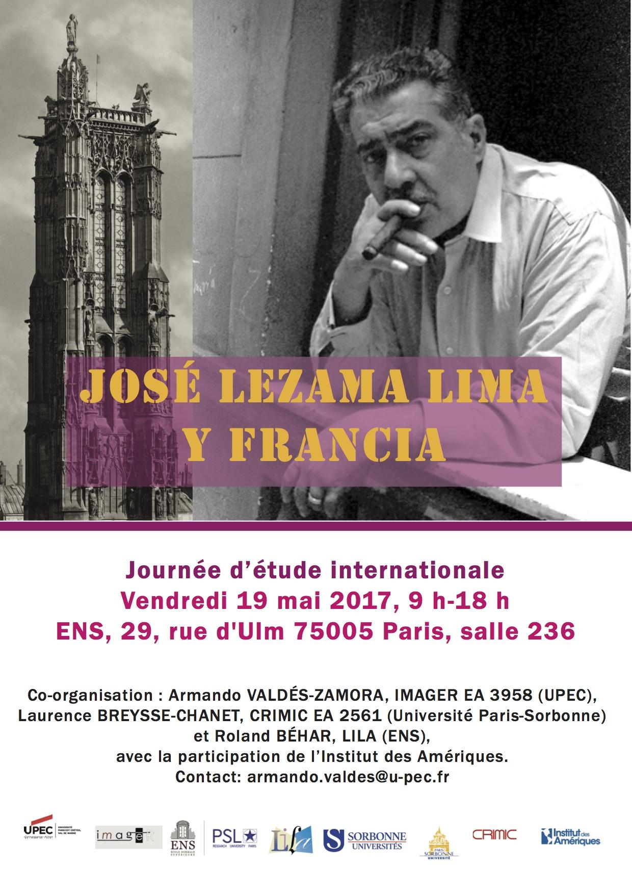 José Lezama Lima y Francia