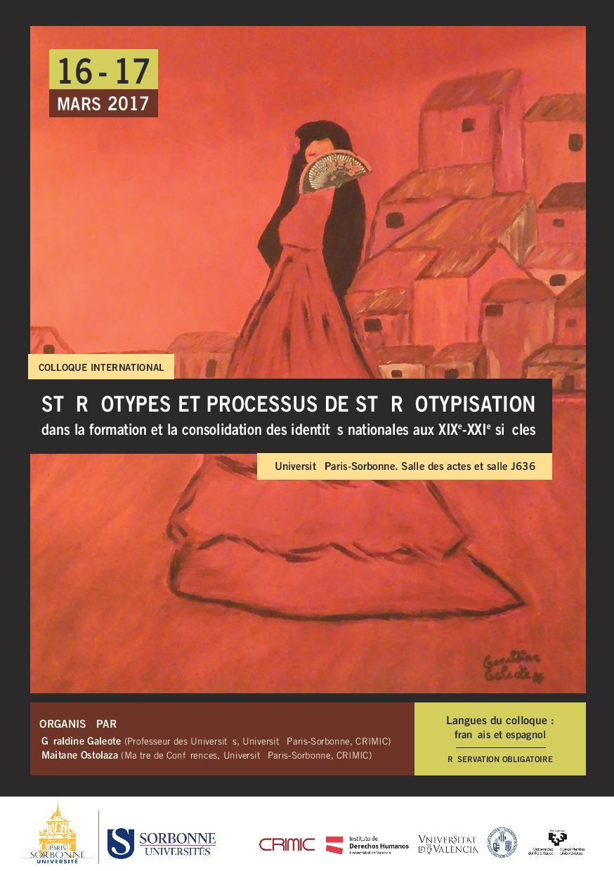 Stéréotypes et processus de stéréotypisation dans la formation et la consolidation des identités nationales aux  XIXème-XXIème siècles