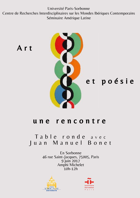 Art et littérature: une rencontre. Avec Juan Manuel Bonet