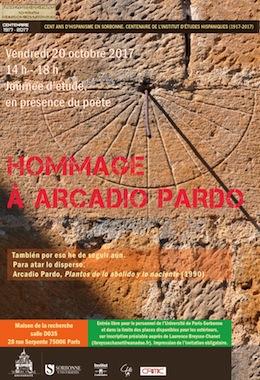 Hommage à Arcadio Pardo