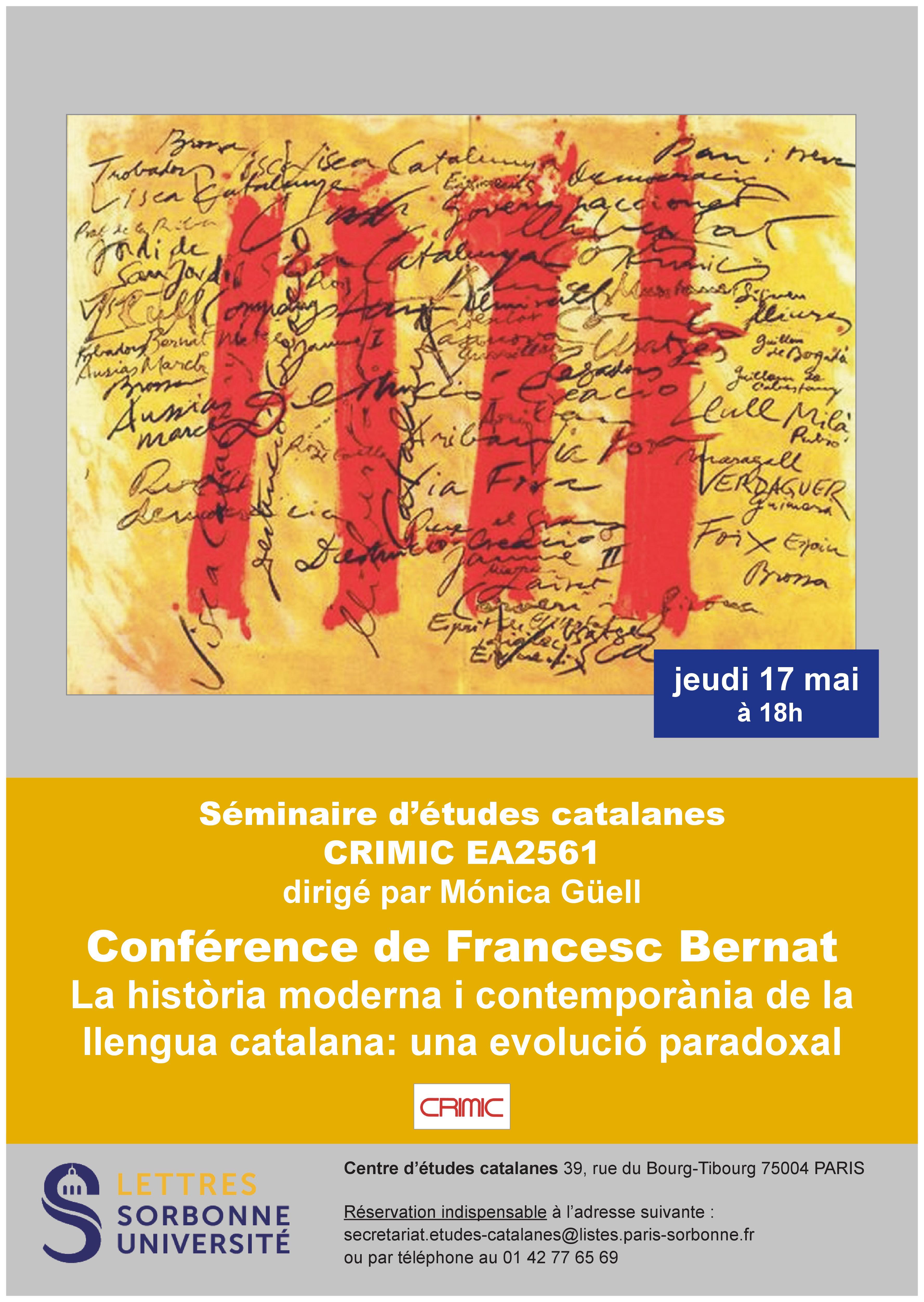 La història moderna i contemporània de la llengua catalana: una evolució paradoxal