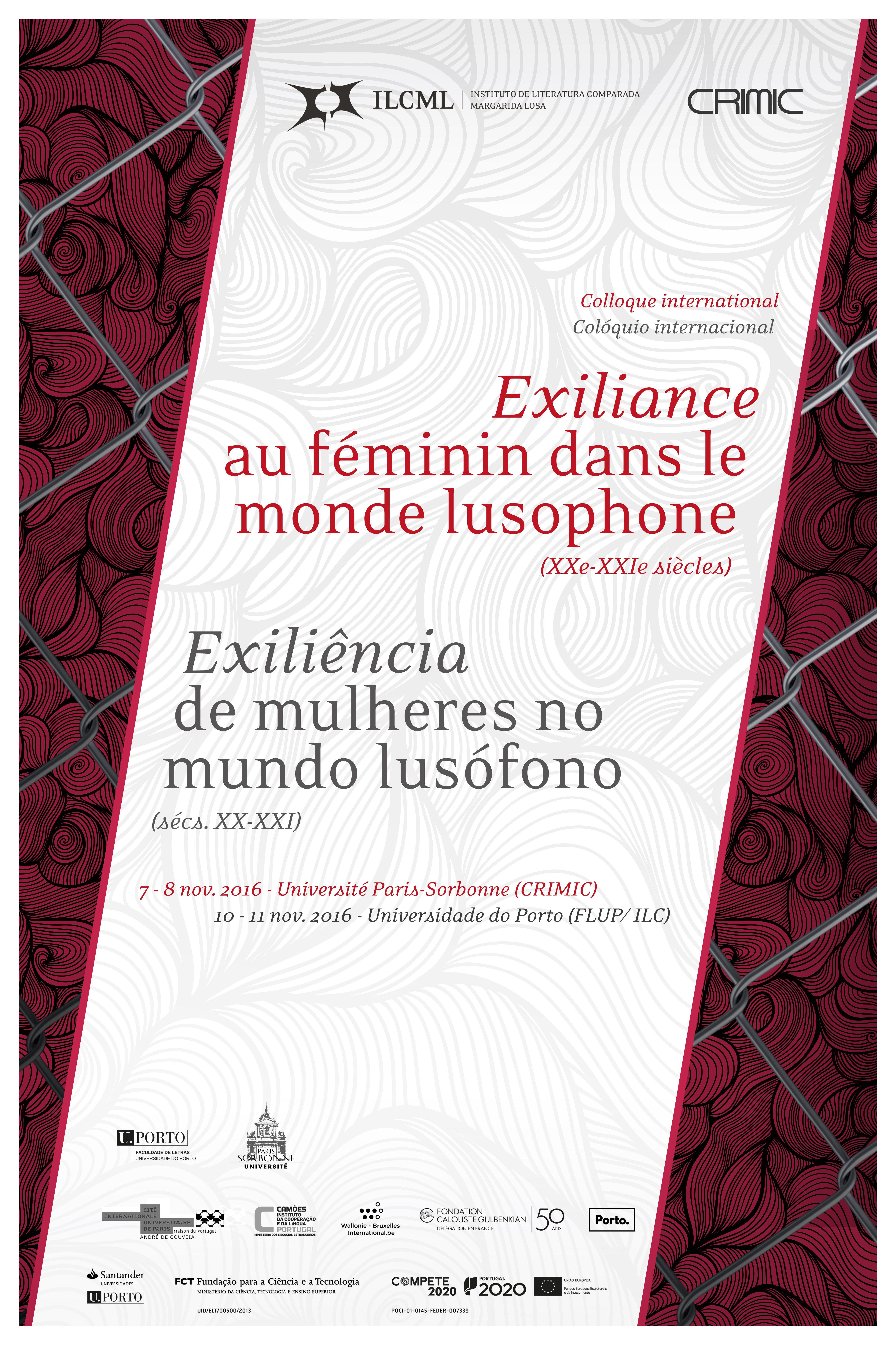 Exilência de mulheres no mundo lusófono
