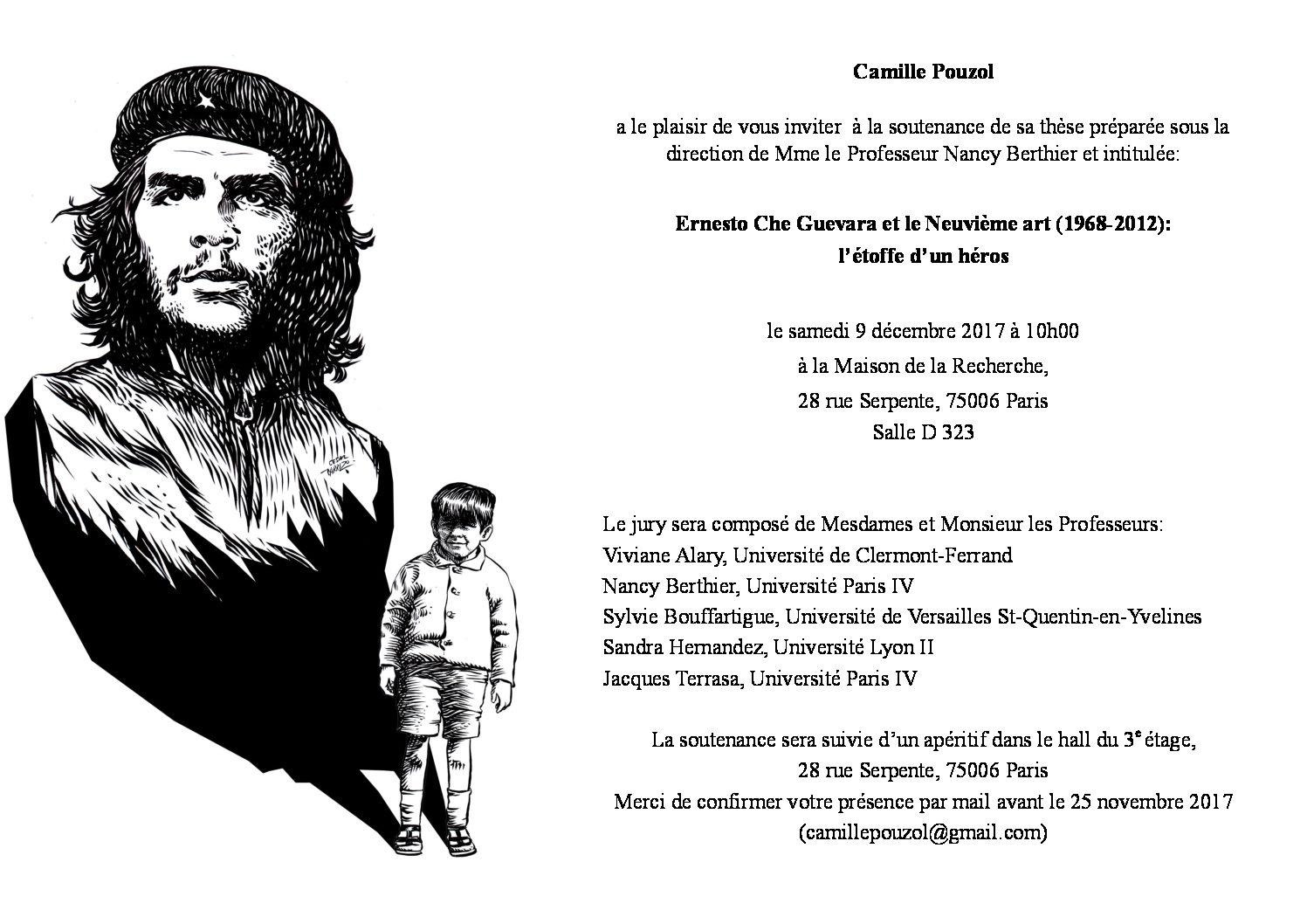 Ernesto Che Guevara et le Neuvième art (1968-2012):  l'étoffe d'un héros