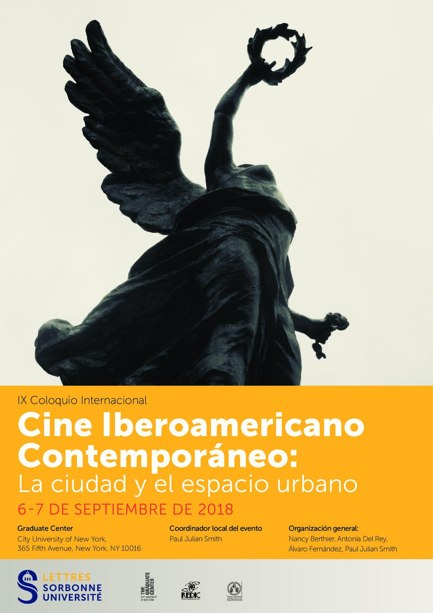 IX Coloquio internacional Cine iberoamericano contemporáneo: la ciudad y el espacio urbano