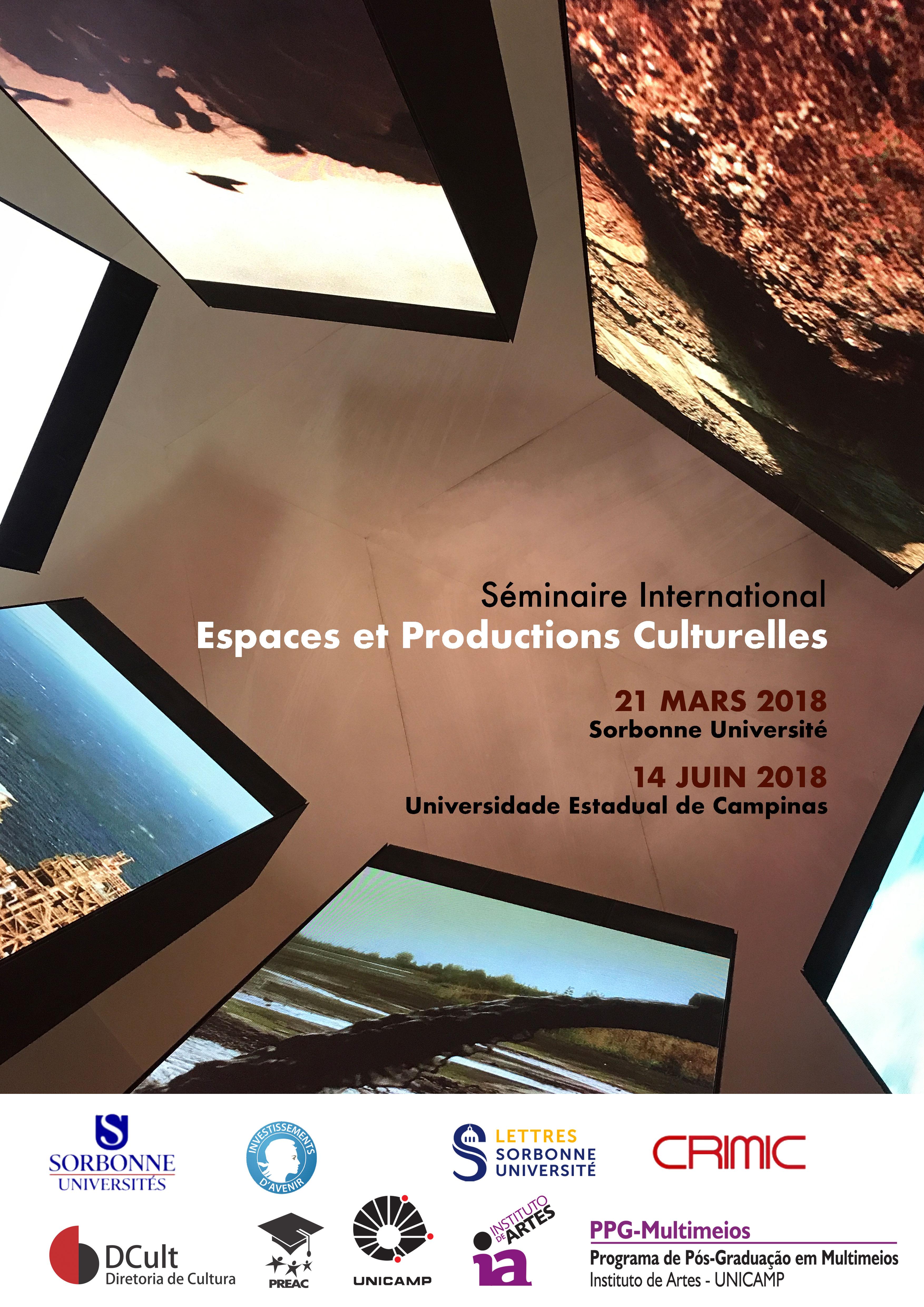 """Séminaire international """"Espaces et productions culturelles- II"""""""