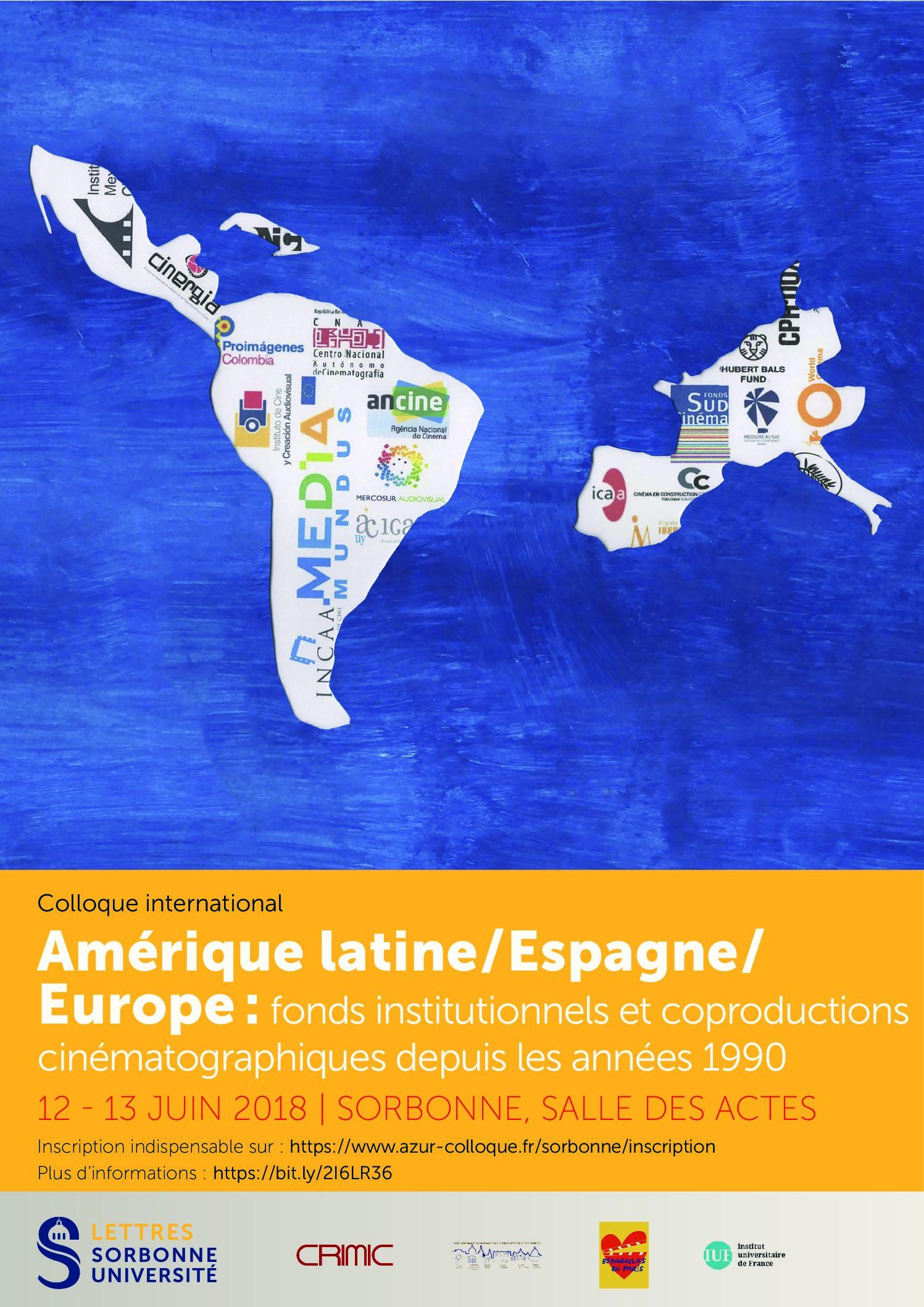 Amérique Latine/Espagne/Europe: questions économiques et esthétiques autour des aides institutionnelles aux cinémas d'Amérique latine depuis les années 1990