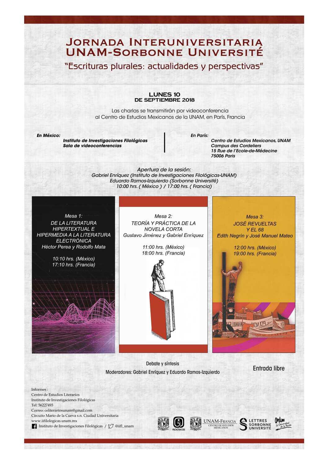 """Jornada de estudios interuniversitaria """"Escrituras plurales: actualidades y perspectivas"""""""