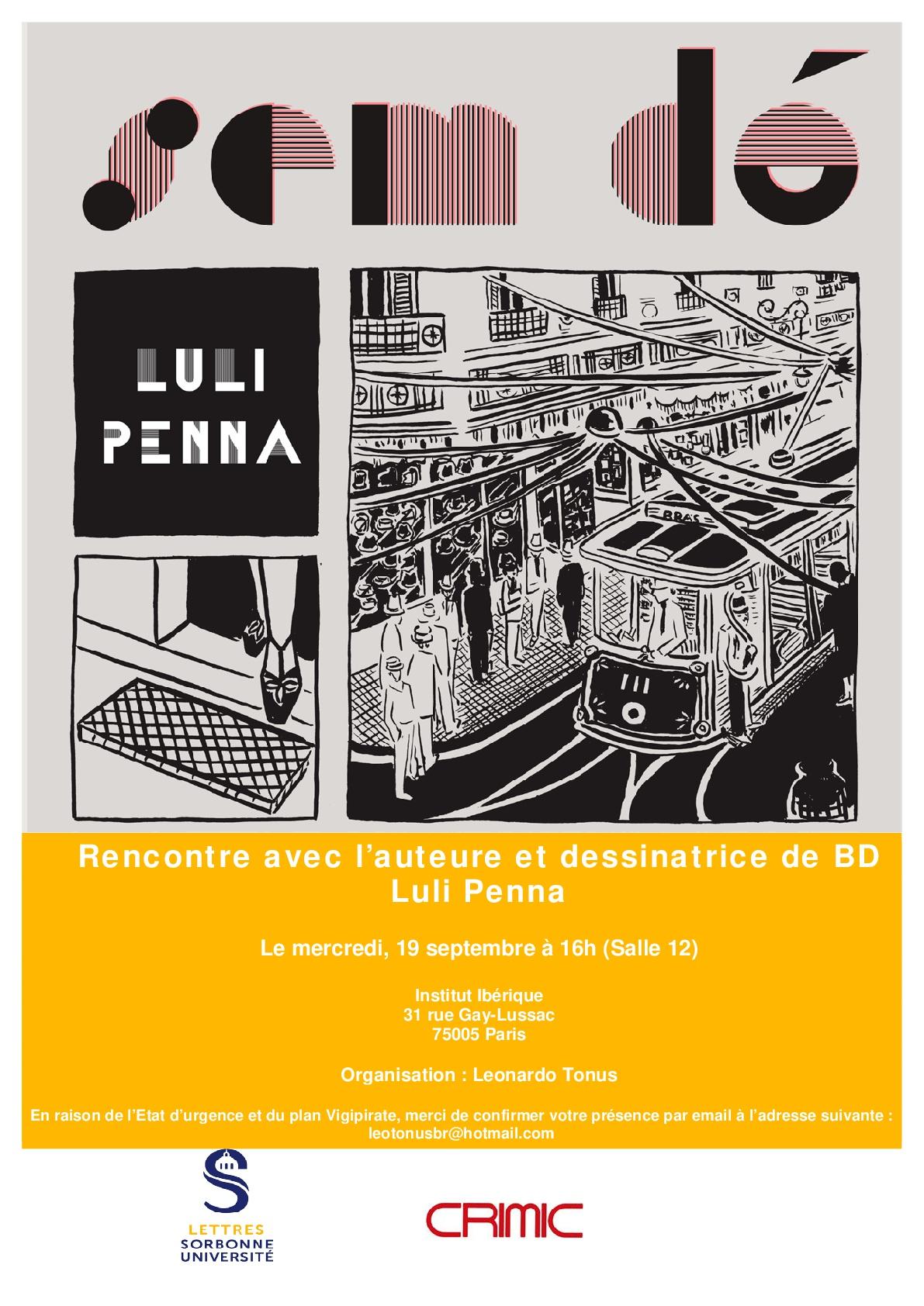 Rencontre avec la dessinatrice Luli Penna