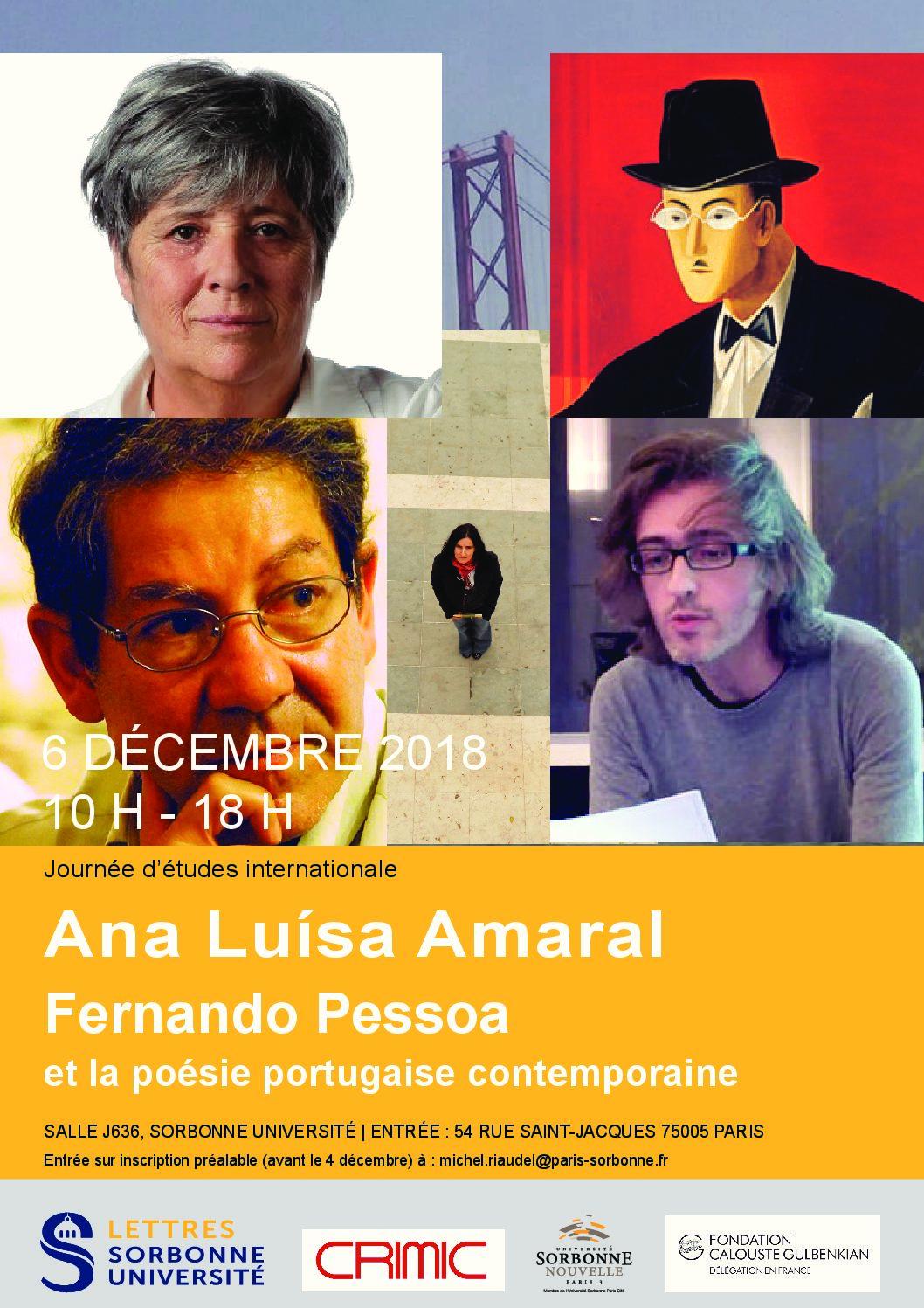 Autour de la poésie portugaise contemporaine