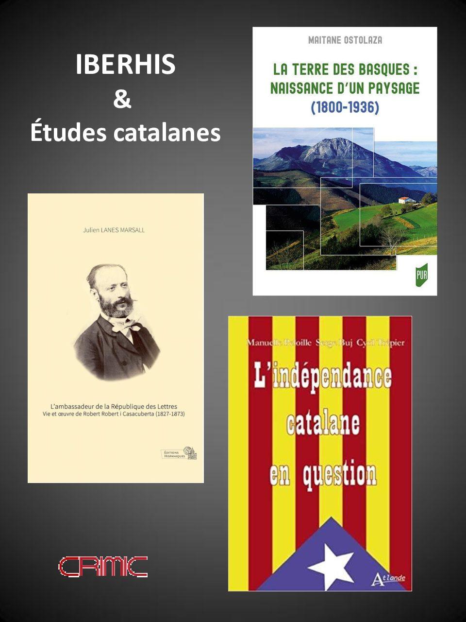 Pays Basque et Catalogne, XIXe et XXe siècles : Séance de présentation de livres