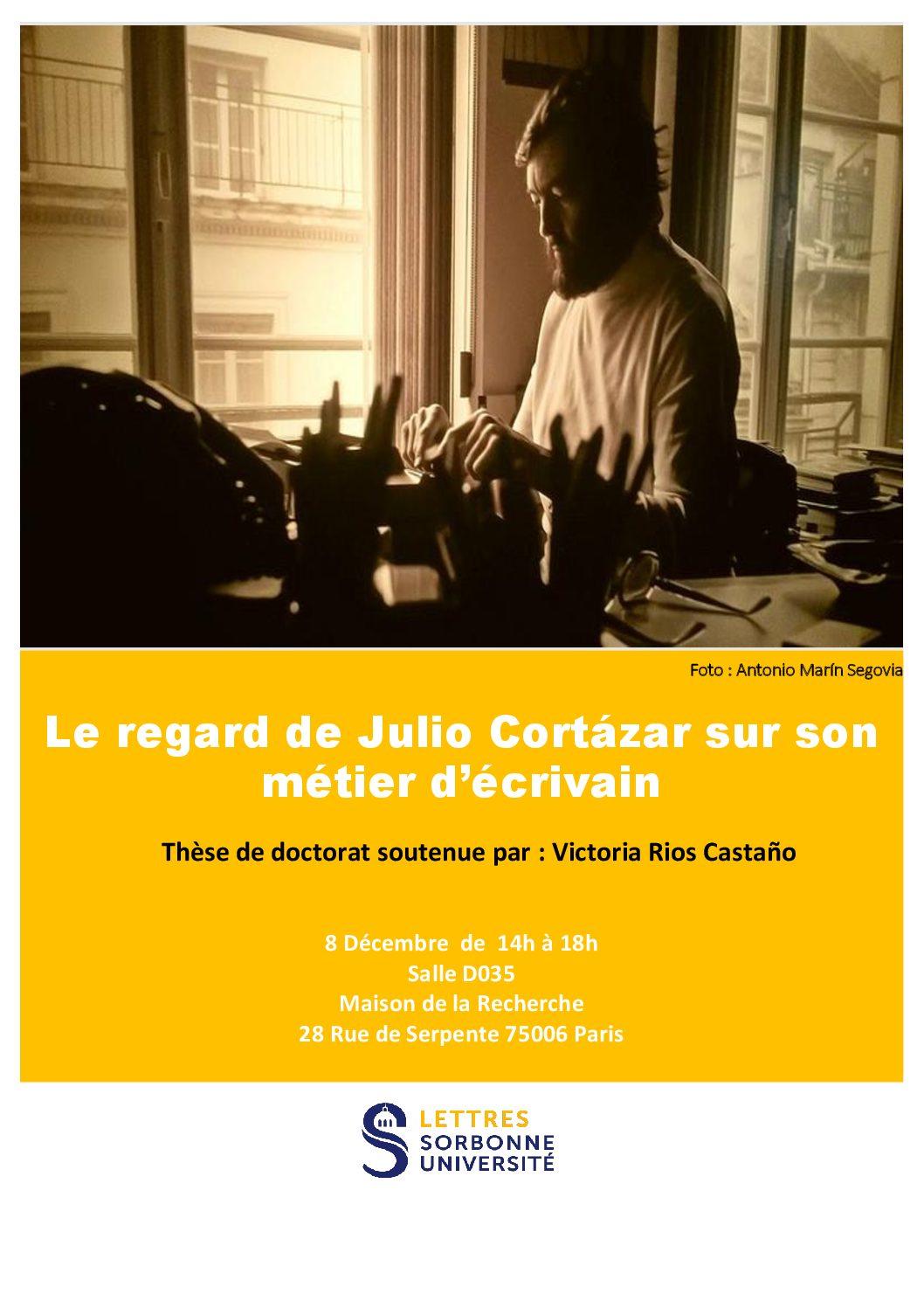Le regard de Julio Cortázar sur son métier d'écrivain
