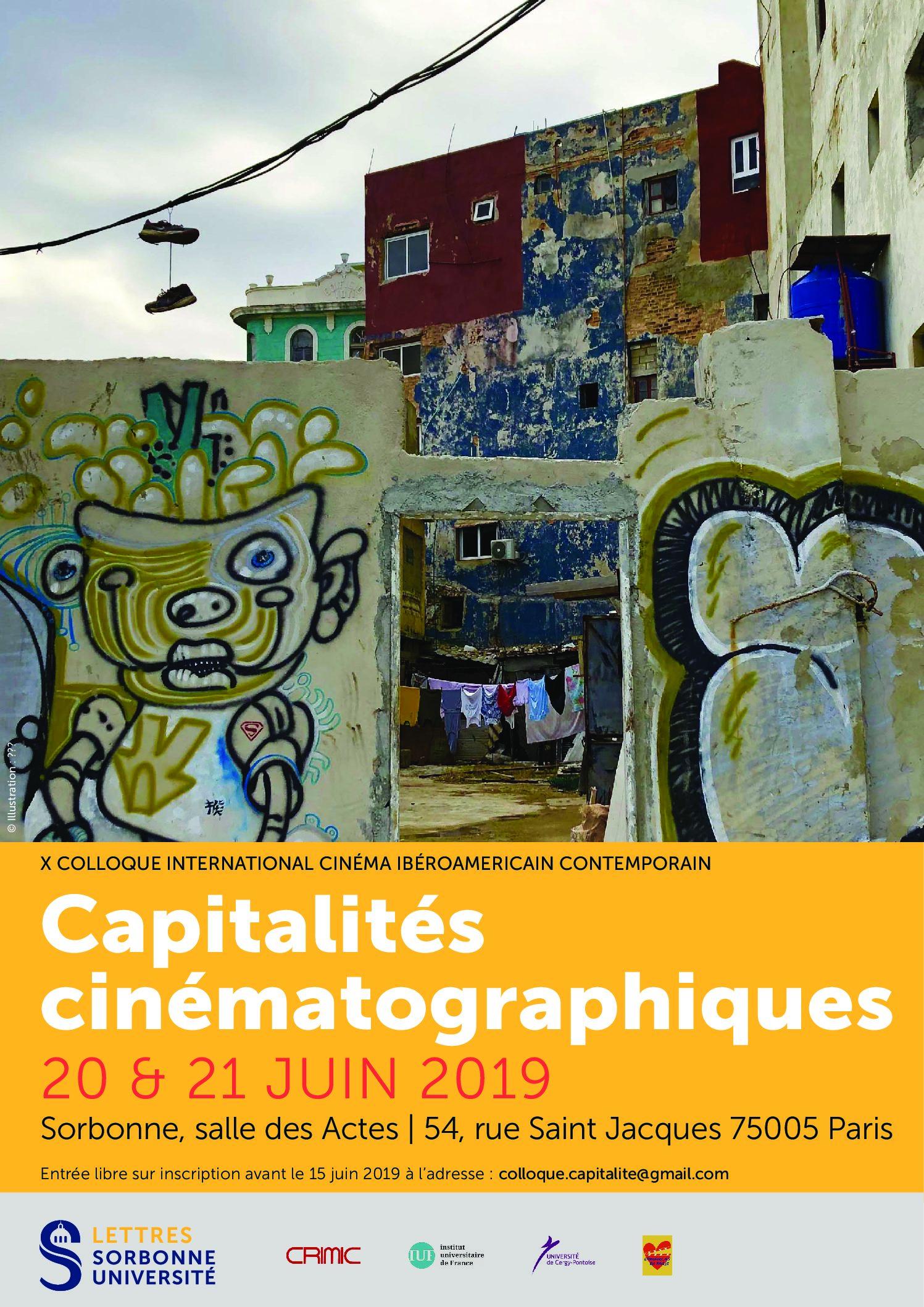 X Coloquio internacional Cine iberoamericano contemporáneo. Capitalidades cinematográficas