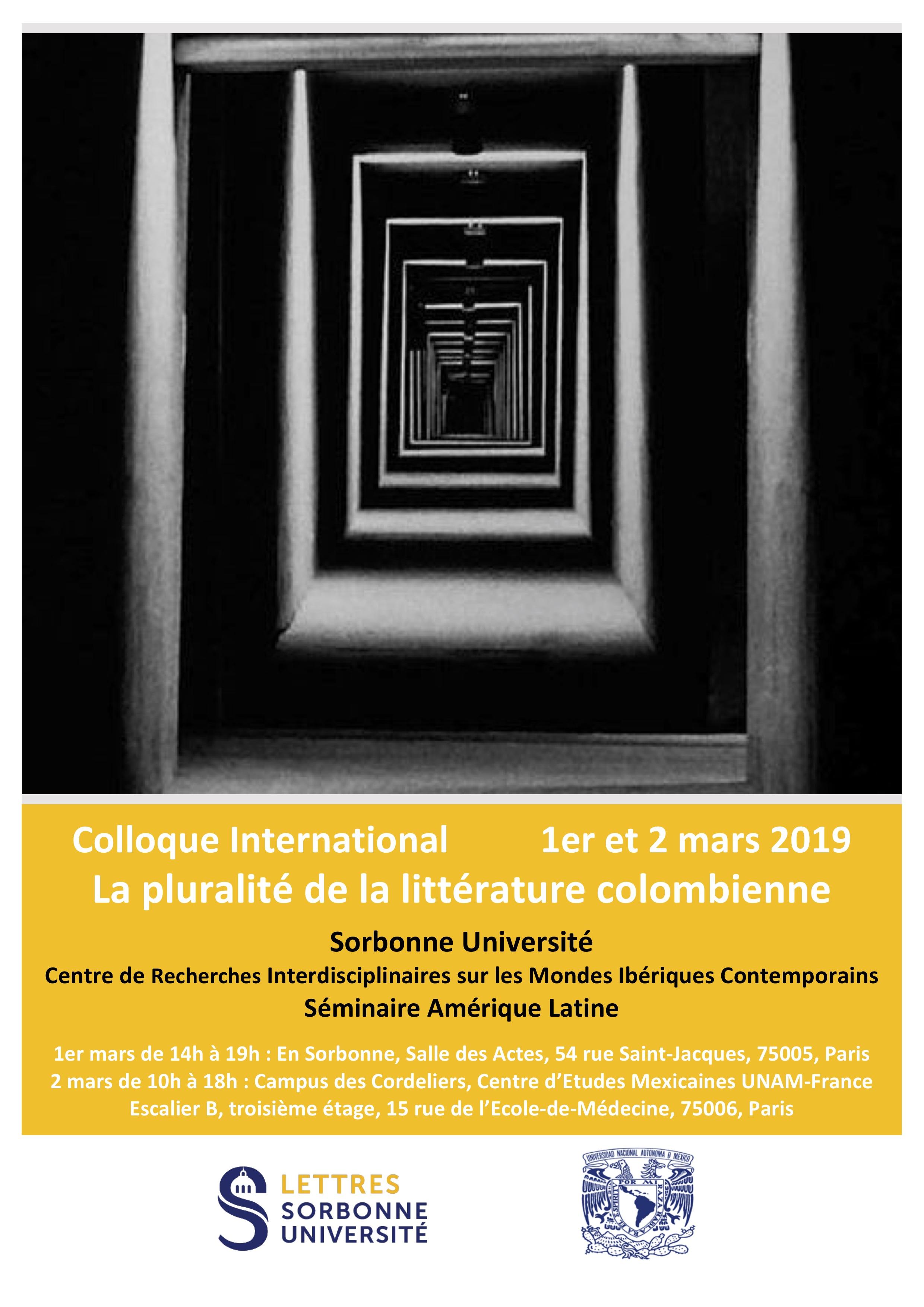 La pluralité de la littérature colombienne