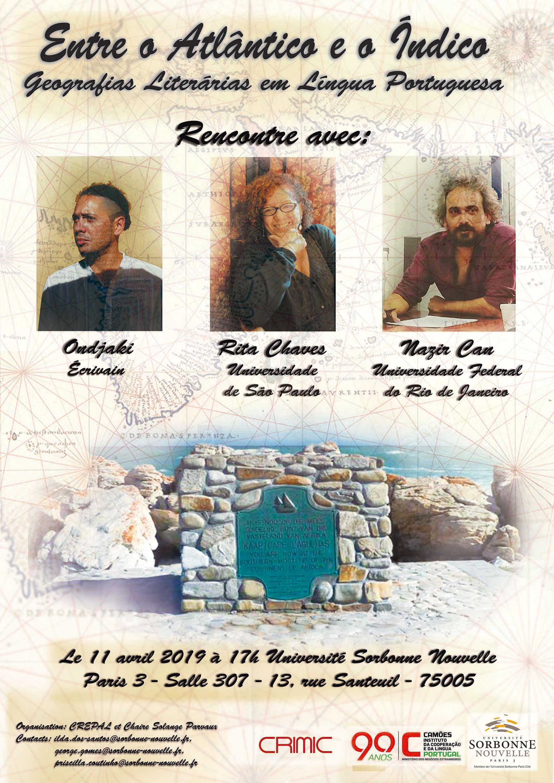 Entre o Atlântico e o Índico, geografias literárias em língua portuguesa