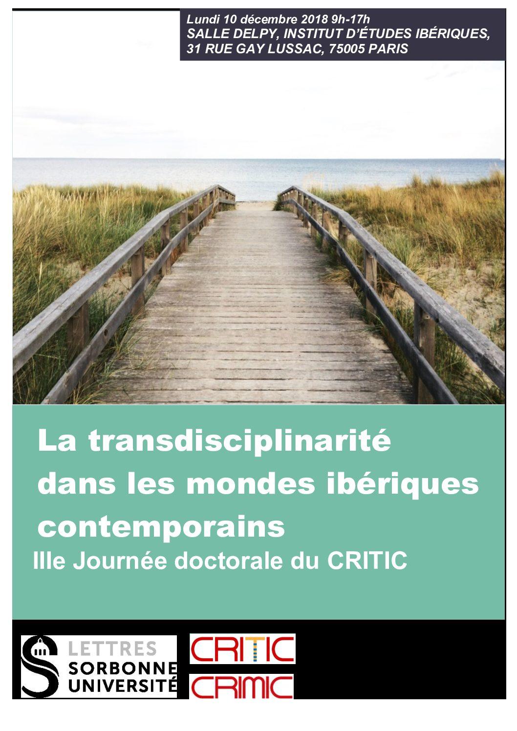 """Journée d'études """"La Recherche en 2019: capitalité des idées"""""""