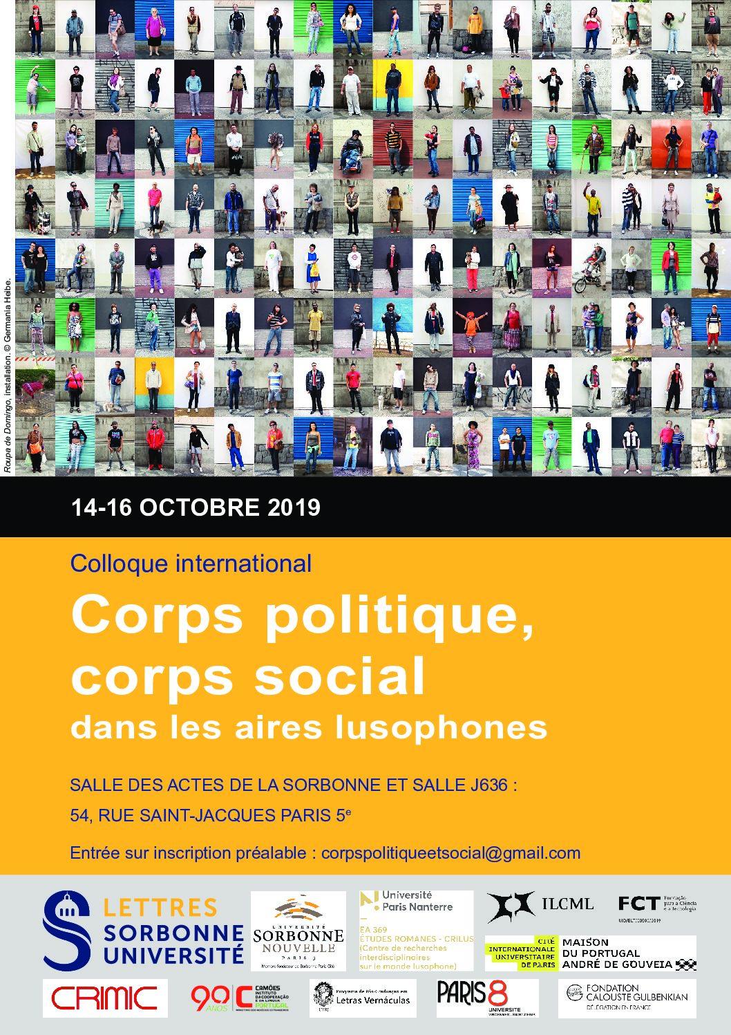 Corps politique, corps social dans les aires lusophones