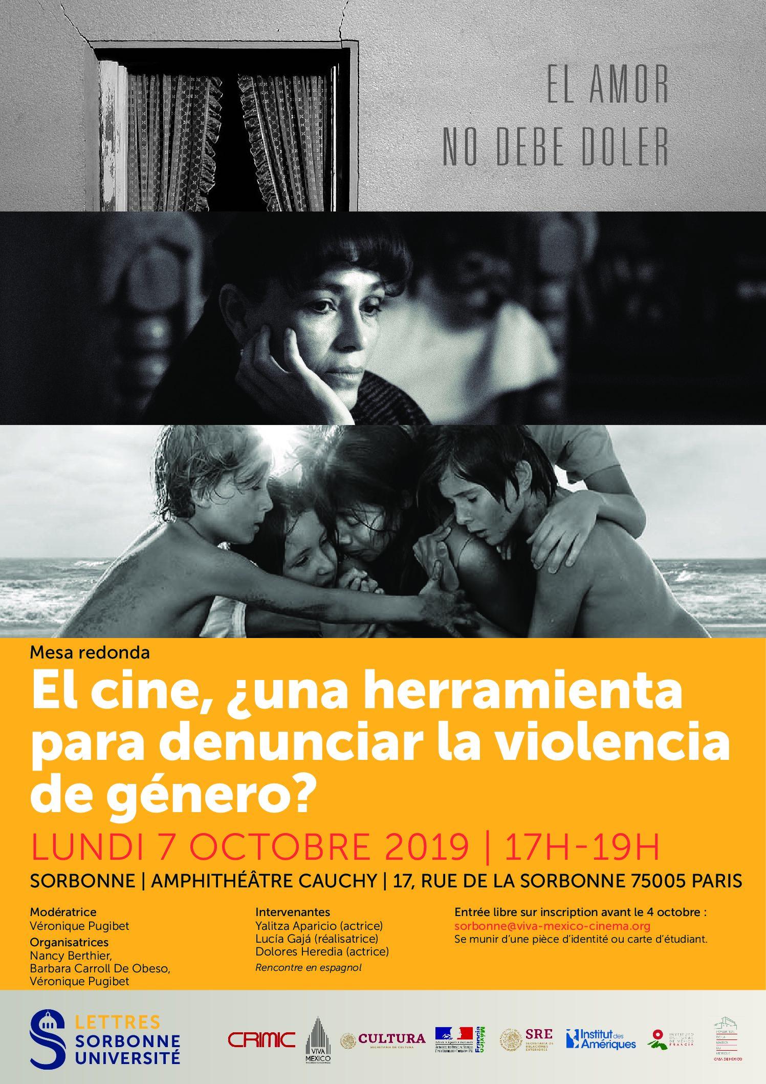 Mesa redonda: el cine, ¿una herramienta contra la violencia de género?