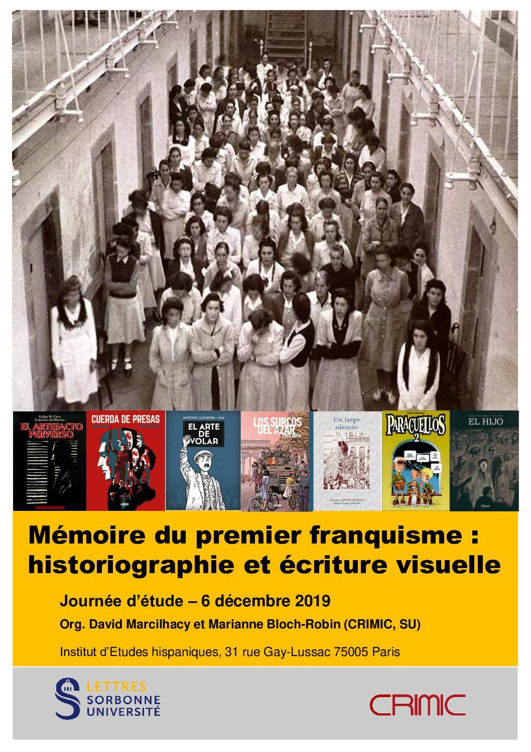 Mémoire du premier franquisme : historiographie et écriture visuelle