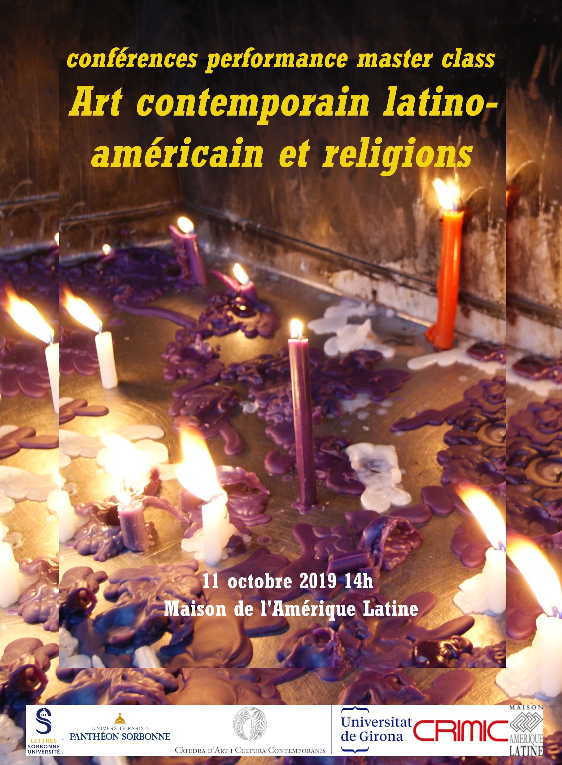 """Journée d'étude """"Religions dans l'art contemporain latino-américain"""""""
