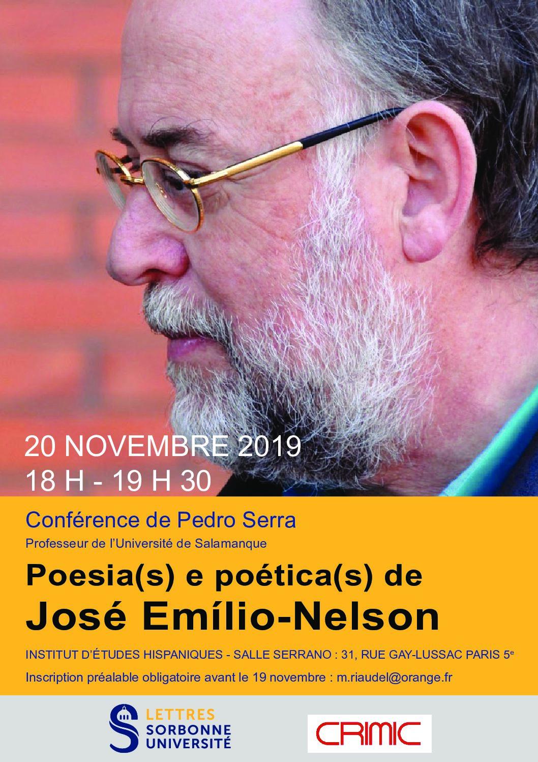 Poesia(s) e poética(s) de José Emílio-Nelson
