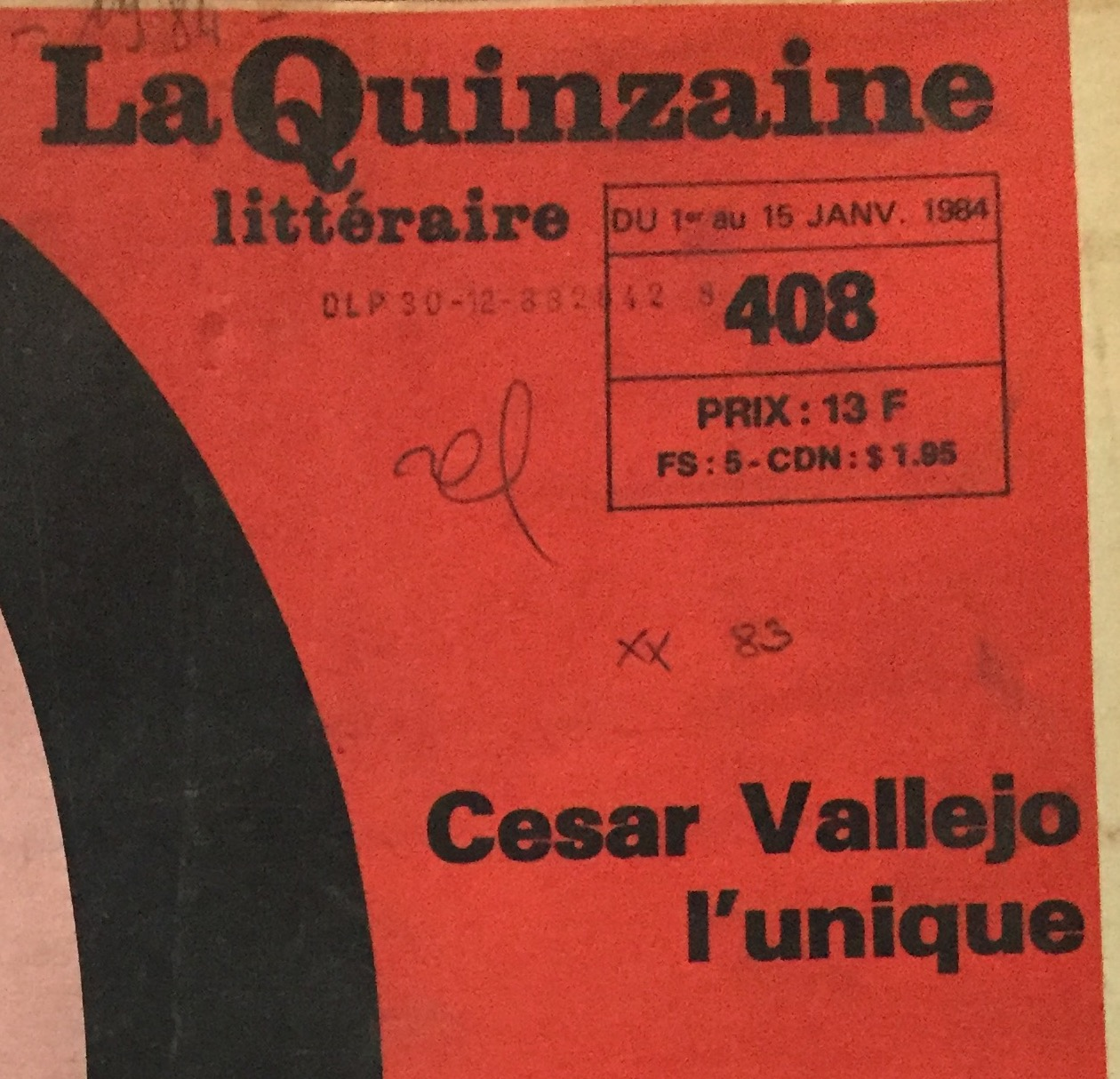 La réception de la poésie de César Vallejo en France