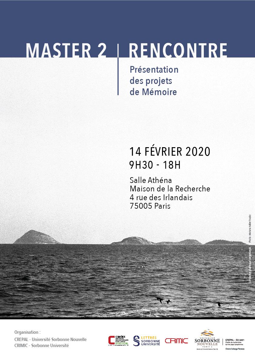 Mastériale (portugais, Sorbonne Université et Sorbonne Nouvelle)