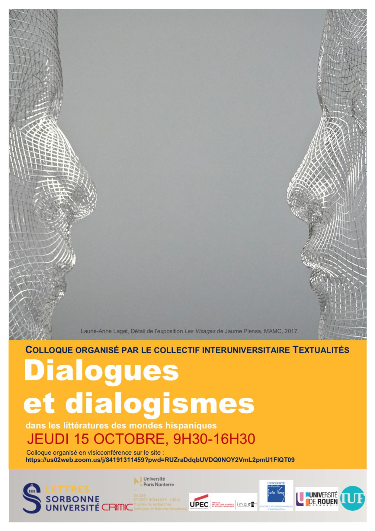 Dialogues et dialogismes dans les littératures des mondes hispaniques