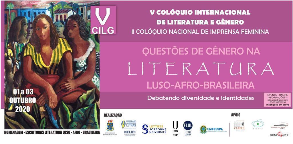 V° colóquio internacional de literatura e gênero