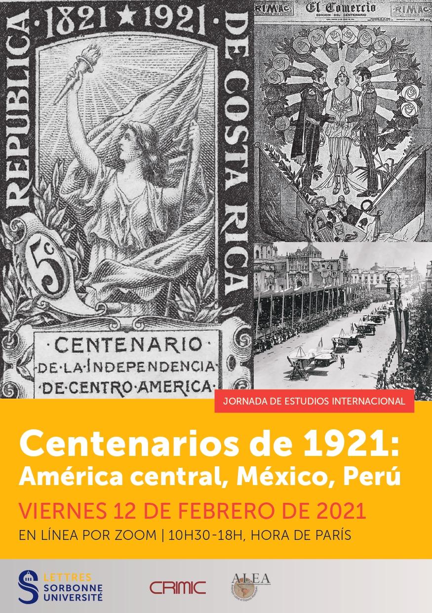 Centenarios de 1921: América Central, México, Perú