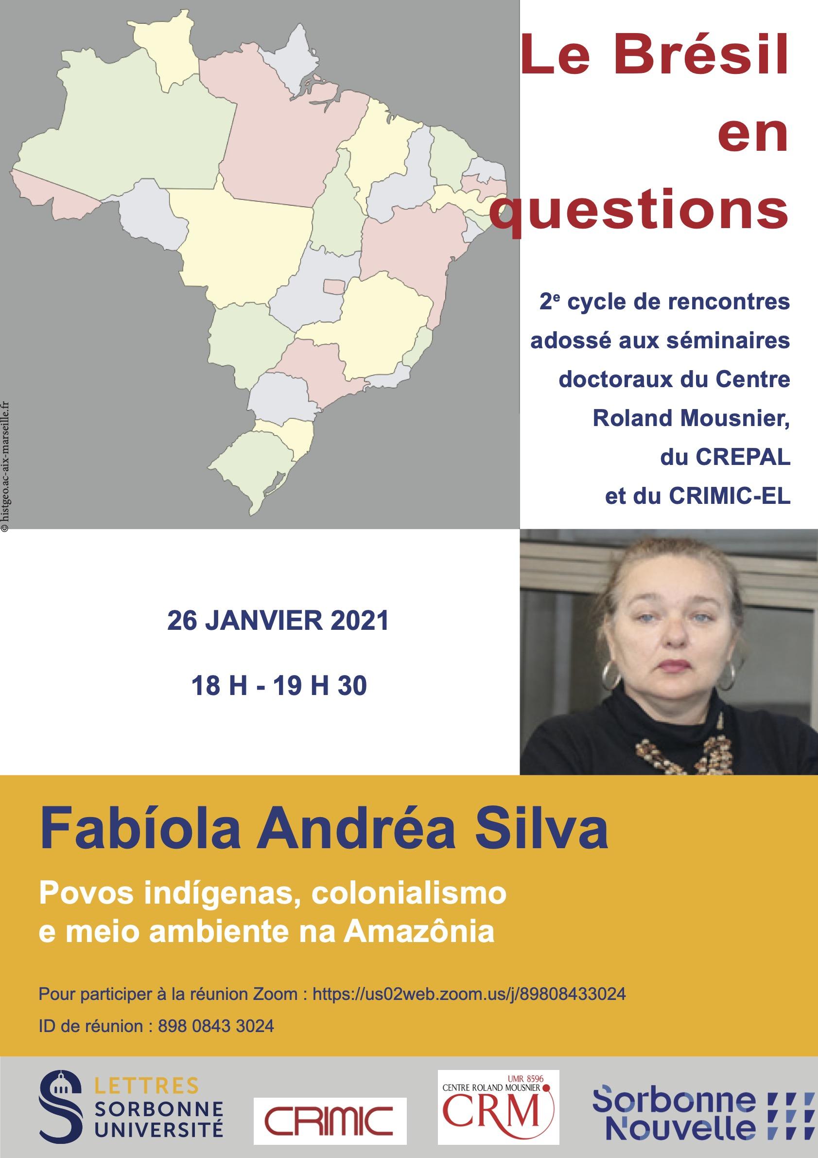 Fabíola Andréa Silva, « Povos Indígenas, colonialismo e meio ambiente na Amazônia»