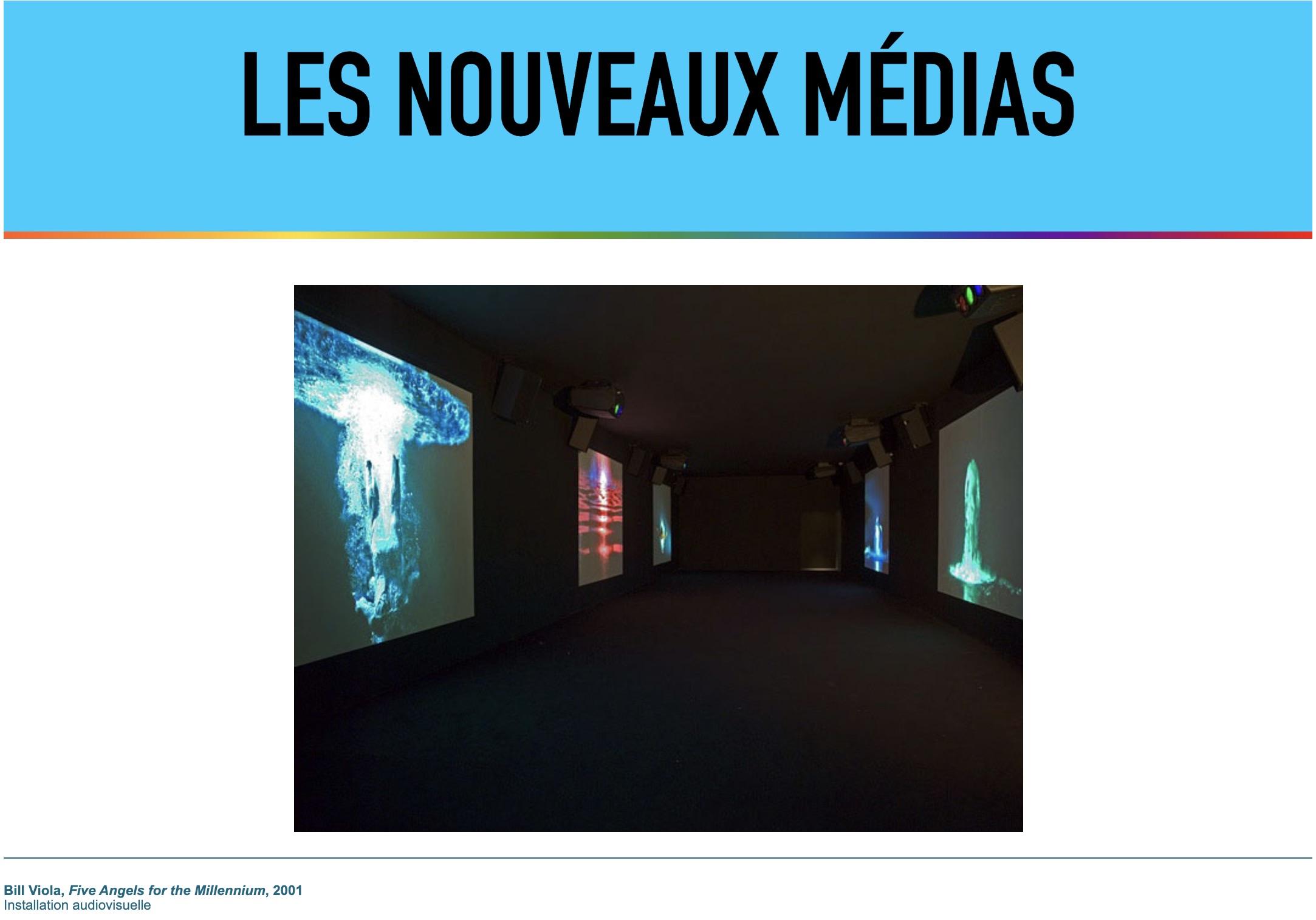 """La colección """"Les nouveaux médias"""" del Centre Pompidou"""